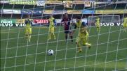 Paloschi segna il goal vittoria contro il Genoa realizzando un rigore in zona Cesarini