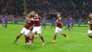 Goal di testa di De Jong contro la Fiorentina