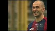 Di Vaio tarda l'appuntamento con il goal contro il Milan