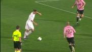 Ibrahimovic: controllo, tiro a giro e gran goal al Palermo
