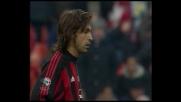 Il goal di Pirlo completa la festa per il Milan contro la Reggina