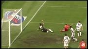Barreto si mangia un goal contro l'Udinese