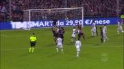 Pjanic segna su punizione il goal del 3-1 contro il Genoa