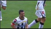 L'Udinese acciuffa il Catania con un goal di testa di Di Natale