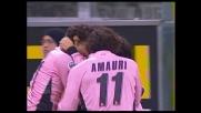 Simplicio segna un goal di testa e porta in vantaggio il Palermo contro la Lazio