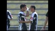 Super goal di Quagliarella in Udinese-Catania