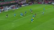 Antonelli simula in maniera goffa contro il Napoli