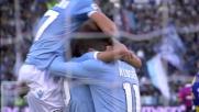 Biava porta in vantaggio la Lazio con un goal in mischia contro il Parma