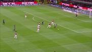 Un attento Abbiati respinge il tiro di Sneijder in area