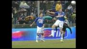 Lucchini attento contro il Milan, Pato neutralizzato