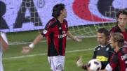 Nagatomo atterra Inzaghi e regala un rigore al Milan