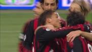 Thiago Silva trafigge Amelia e sigla il goal del sorpasso del Milan a San Siro
