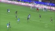 Una bella parata di Donnarumma nega il goal a Mertens