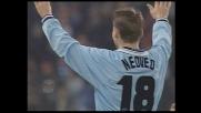 Mancini inventa, Nedved finalizza e la Lazio va in goal contro l'Empoli