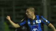 Il goal di rapina in acrobazia di De Luca porta in parità Atalanta e Genoa