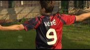 Il goal di Nenè porta avanti il Cagliari sull'Atalanta