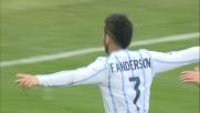 La Lazio va in goal contro il Sassuolo con un tiro da fuori di Felipe Anderson