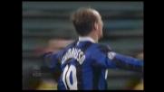 Goal di Cambiasso! Inter avanti sulla Lazio