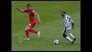 Diagonale vincente di Asamoah contro la Fiorentina