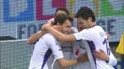 Definitivo goal dell'1 a 1 di Rodriguez in Genoa-Fiorentina