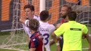 Gomez allunga il parziale con il goal dal dischetto a Marassi