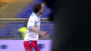 Un pasticcio difensivo della Lazio regala ad Izco il goal del vantaggio etneo
