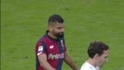 Rincon non inquadra la porta in Genoa-Udinese