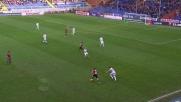 Laxalt di testa fallisce un'ottima occasione per il Genoa contro la Fiorentina