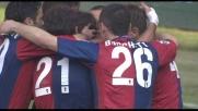 Milanetto chiude la pratica Cagliari al Marassi realizzando il goal del 5-3