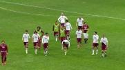 Maxi Lopez e il gestaccio ai tifosi dell'Inter