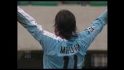 Contro il Chievo la Lazio passa in vantaggio grazie al goal di Mauri