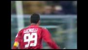 Il goal di Lucarelli contro l'Inter arriva su punizione