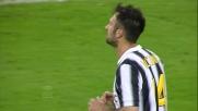 Allo Juventus Stadium Vucinic dal limite la ciabatta sul fondo