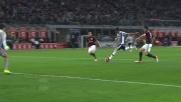 Mandzukic realizza il goal dell'1-1 contro il Milan a San Siro