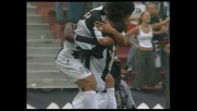 Zalayeta segna di testa il goal che affonda l'Udinese