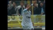 Zampata di Simeone, goal della Lazio