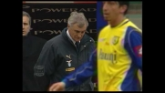 Zanchetta va vicino al goal per il Chievo ma il suo destro viene respinto da Sereni