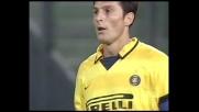 Zanetti prova a sorprendere l'Udinese, De Sanctis blocca
