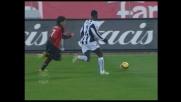 Zapata blocca Pato con un'ottima chiusura in fallo laterale