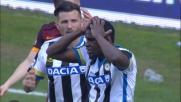 Zapata colpisce un palo di testa contro la Roma