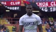 Zapata, fallo di irruenza contro il Genoa