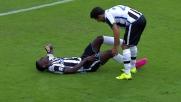 Zapata, goal e infortunio a Bologna