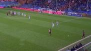 Zapata regala un rigore al Genoa colpendo il pallone con un braccio