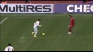 Zarate a giro sul secondo palo sfiora il super goal al Livorno!