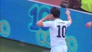 Zarate con tenacia segna il goal vittoria della Lazio
