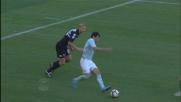 Zarate fa sparire il pallone all'Olimpico contro la Sampdoria