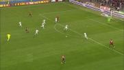 Zarate finalizza in diagonale il contropiede fulmineo della Lazio contro il Genoa