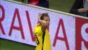 Zarate gela San Siro e firma il pari per la Lazio contro il Milan