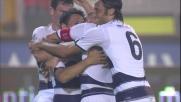 Zarate goal: il suo diagonale preciso punisce la difesa disattenta del Lecce