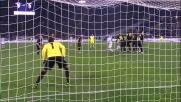 Zarate porta in vantaggio la Lazio contro il Bologna con un gran goal su punzione